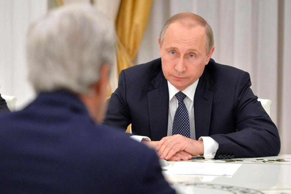Путин и Керри обсудили Сирию