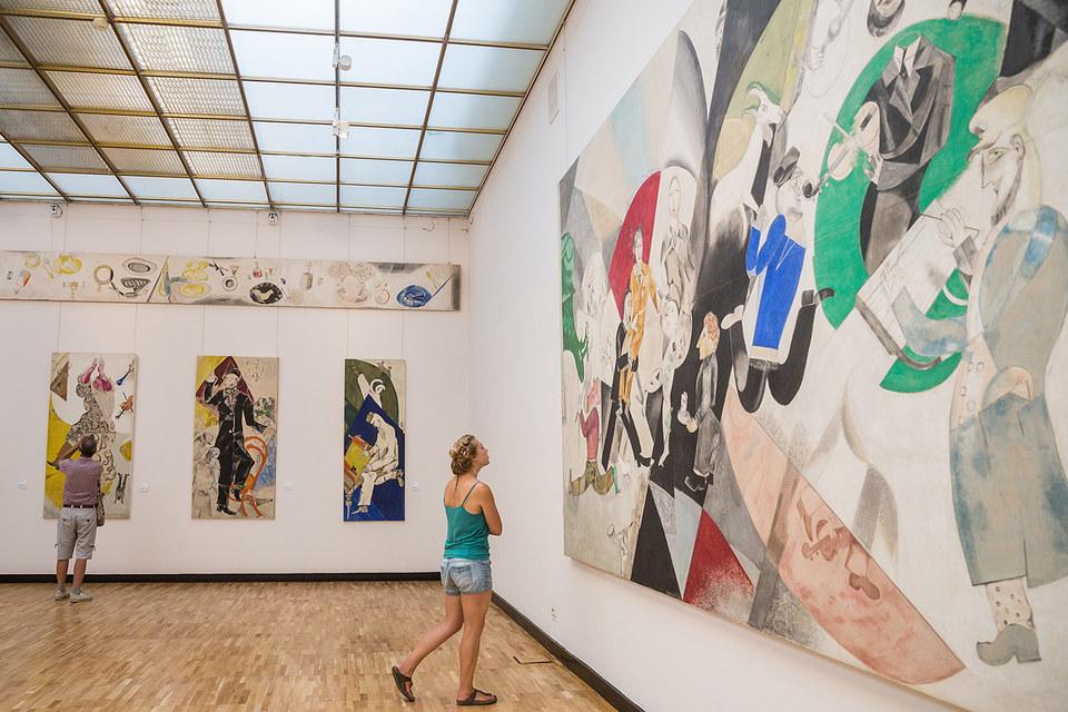 Панно Шагала превратили 9-й зал постоянной экспозиции в один из самых привлекательных