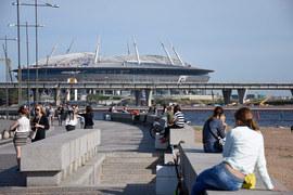 Степень готовности стадиона не меняется уже несколько месяцев