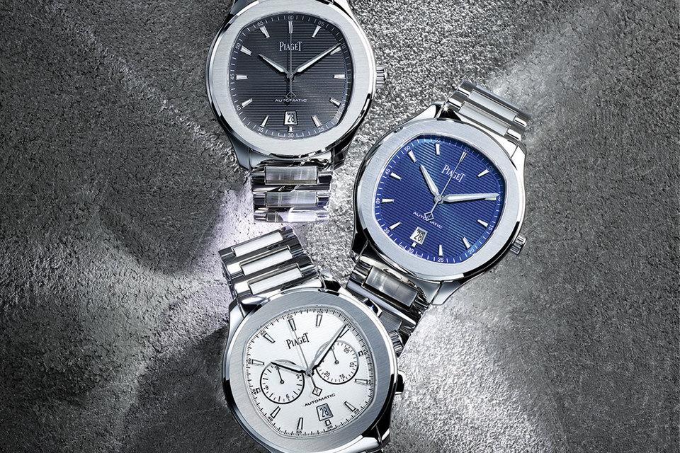 В коллекцию Piaget Polo S вошли часы с автоматическим подзаводом и хронограф