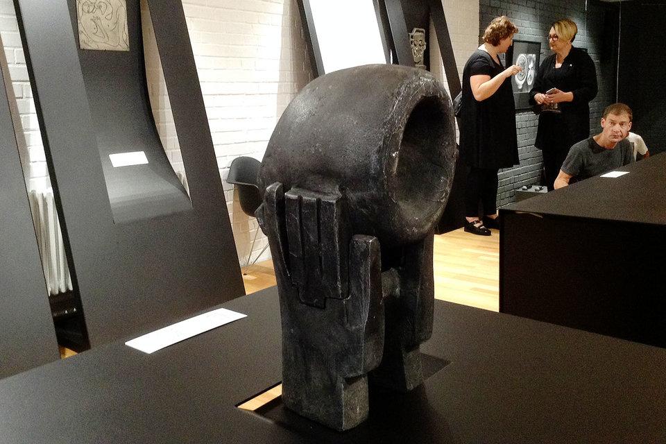 Одна из самых трагических работ на выставке Вадима Сидура
