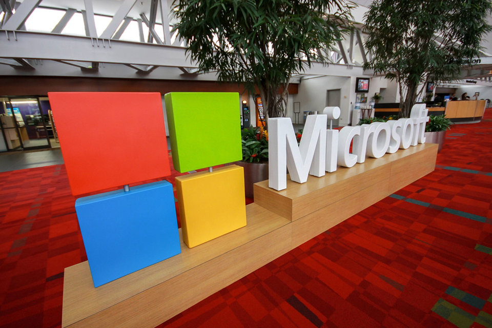 Microsoft заработал на облаках
