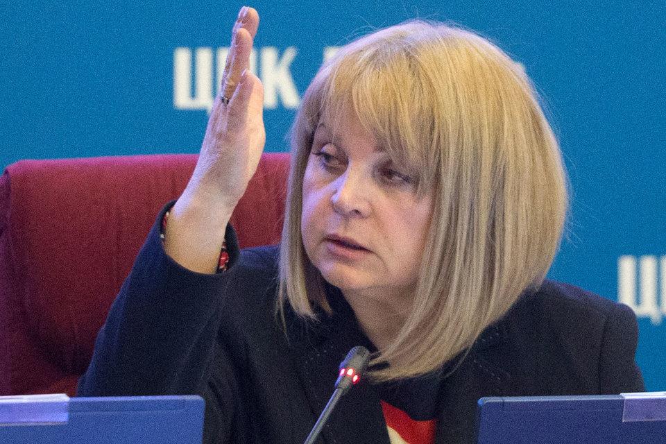 Памфилова обещает «черную метку» «двойникам» на выборах