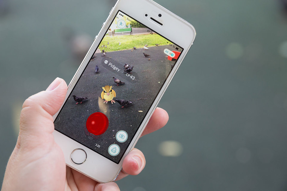 Покемонов ловят более 180 000 москвичей