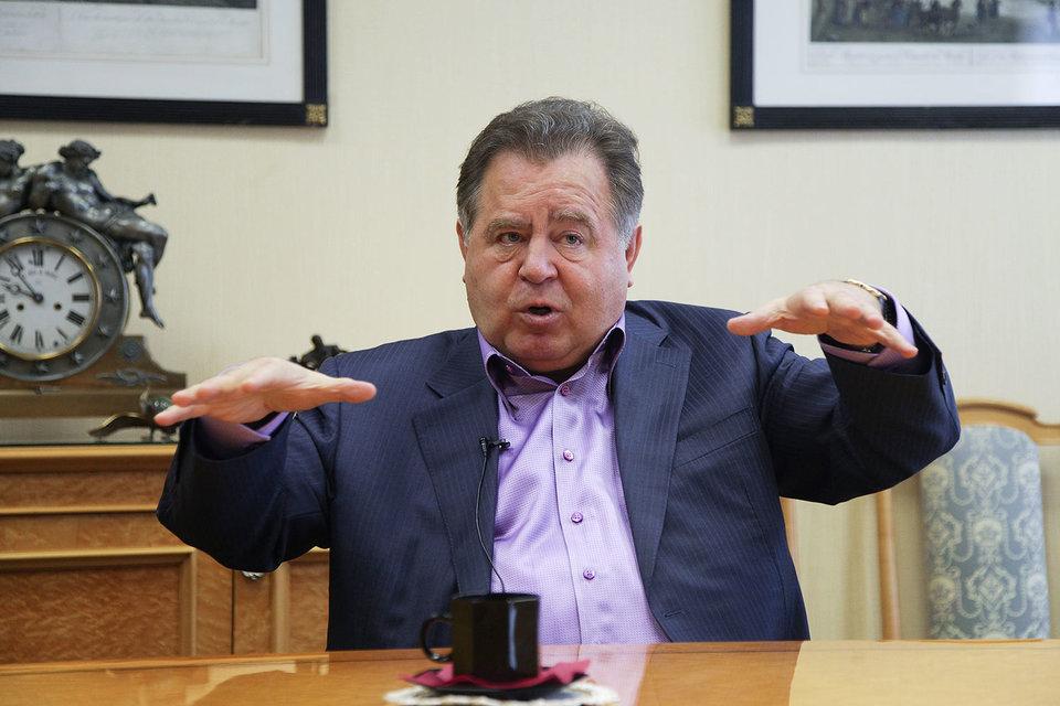 Владимир Щербаков (на фото) уступил контроль над калининградским «Автотор холдингом» своему сыну Сергею
