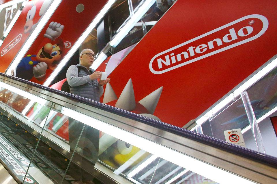 Акции Nintendo рухнули почти на 18%