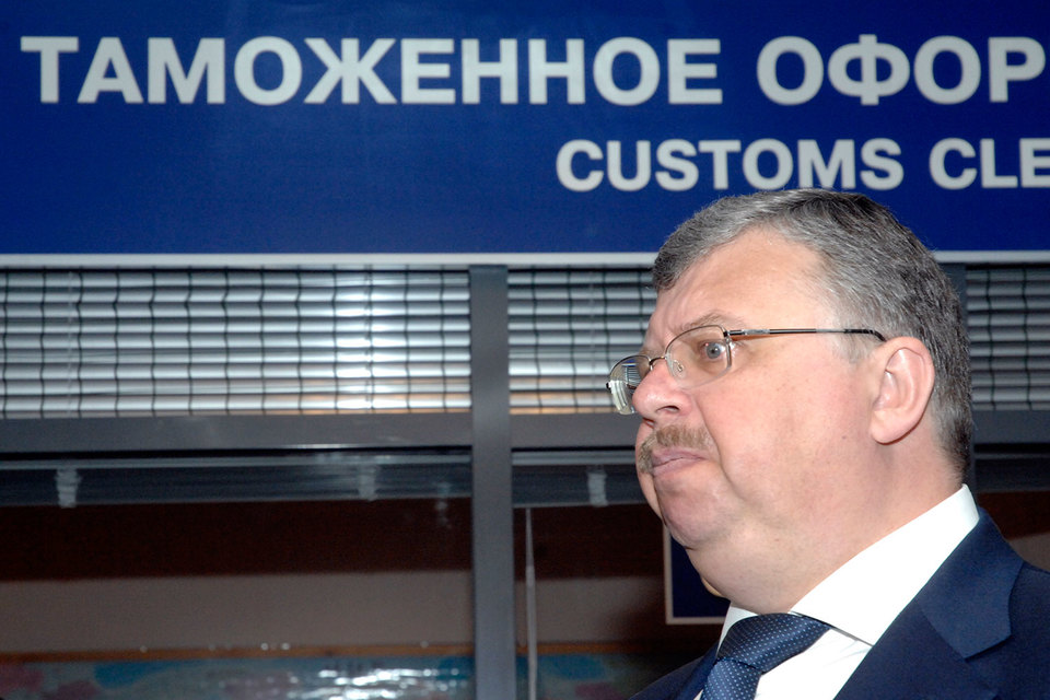 Кабинет руководителя таможни Андрея Бельянинова обыскан по алкогольному делу