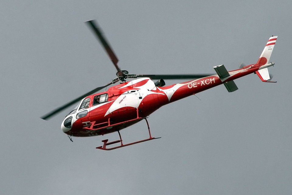 Airbus Helicopters планировал поставить вертолет AS350 B2