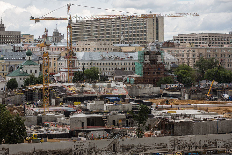 Компании, 13%-ной долей которой владеет Артем Дюмин, принадлежат права на проект 5-звездочного гостиничного комплекса в Зарядье