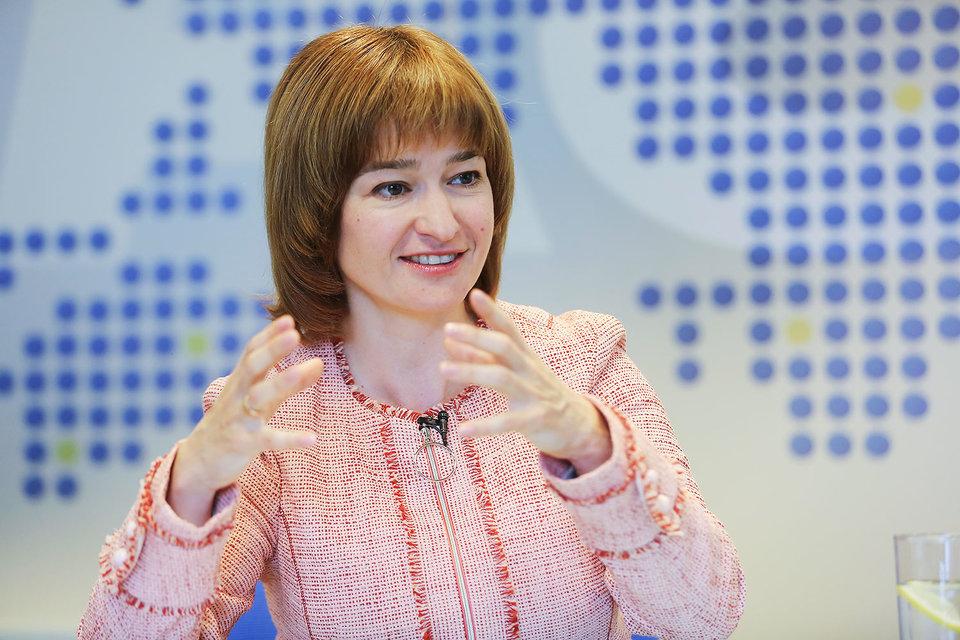 Генеральный директор Visa в России Екатерина Петелина