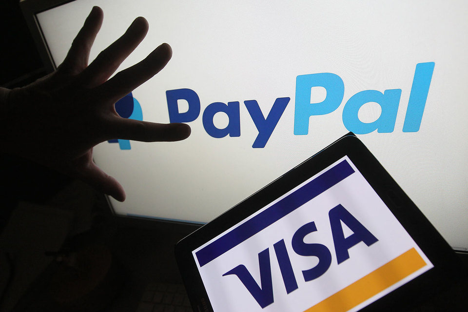 Клиенты PayPal смогут моментально переводить деньги на банковский счет с помощью карты Visa