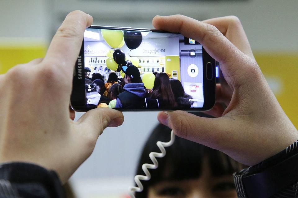 Samsung снова будут продаваться в сети «Вымпелком»