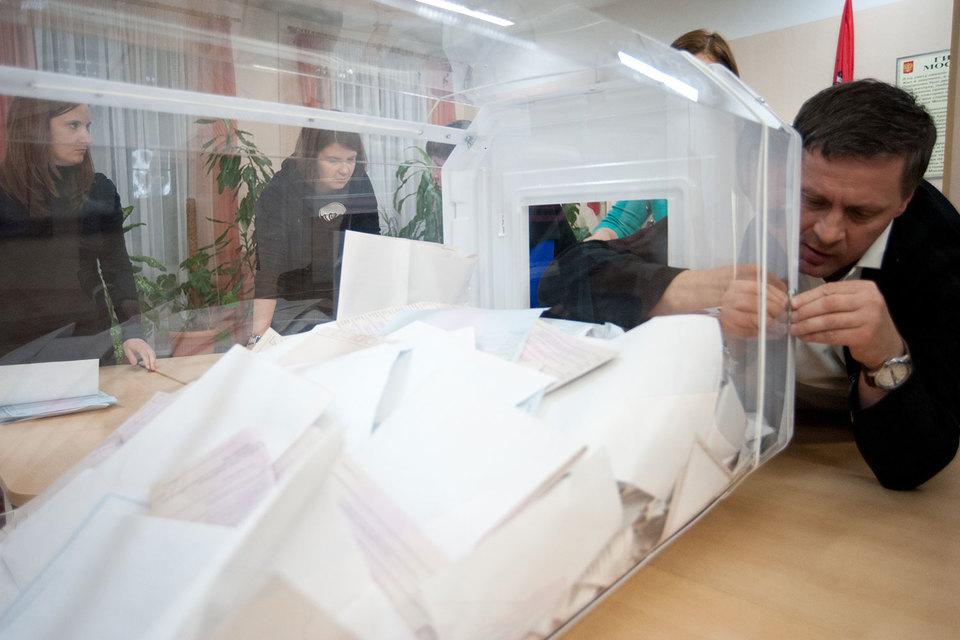 Единороссы уверены, что их праймериз (на фото) были самыми чистыми и прозрачными