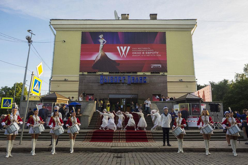 Вопреки содержанию фильмов, которые предстоит увидеть, на открытии фестиваля царило хорошее настроение