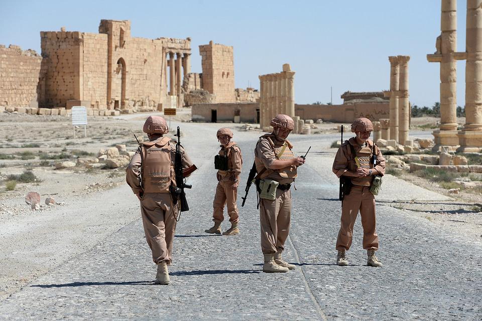 Российская армия останется в Сирии для помощи правительственным войскам