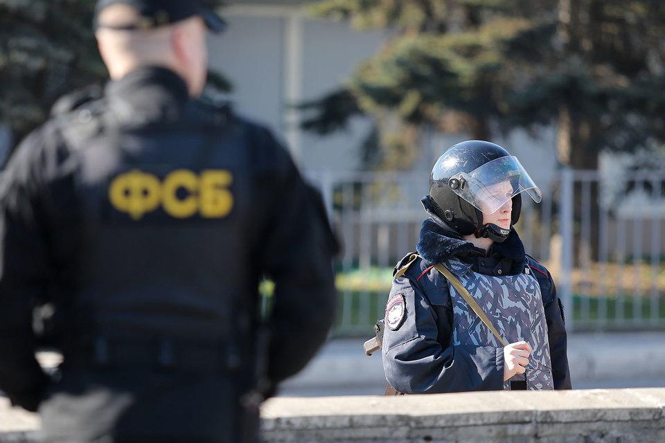 ФСБ объявила о срыве терактов в Крыму