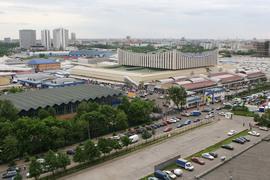 Черкизовский вещевой рынок существовал с начала 1990-х по 2009 г.