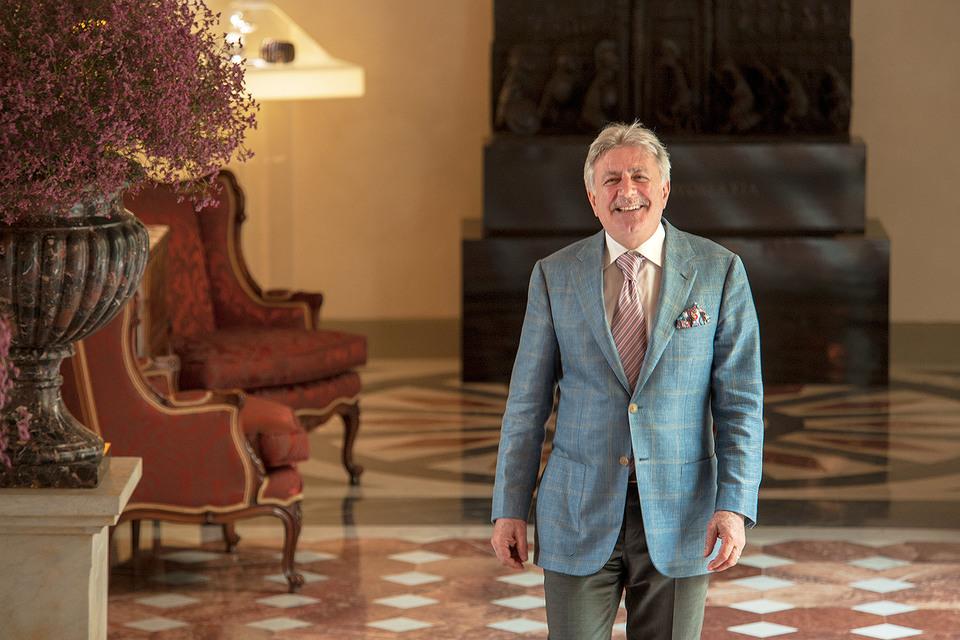 Генеральный менеджер Four Seasons Hotel Firenze Патрицио Чиполлини