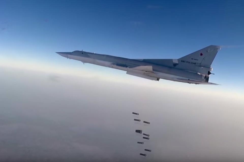 Дальний бомбардировщик Ту-22М3