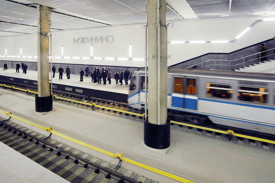 Пассажиропоток «Мякинино» составляет чуть более 10 000 пассажиров в сутки