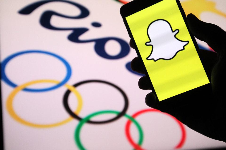 Около 50 млн человек уже посмотрели Олимпиаду с помощью мобильного приложения Snapchat