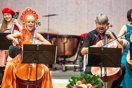 На фестивале Иегуди Менухина в Гштааде соблюден образцовый баланс между развлечениями и серьезными занятиями музыкой