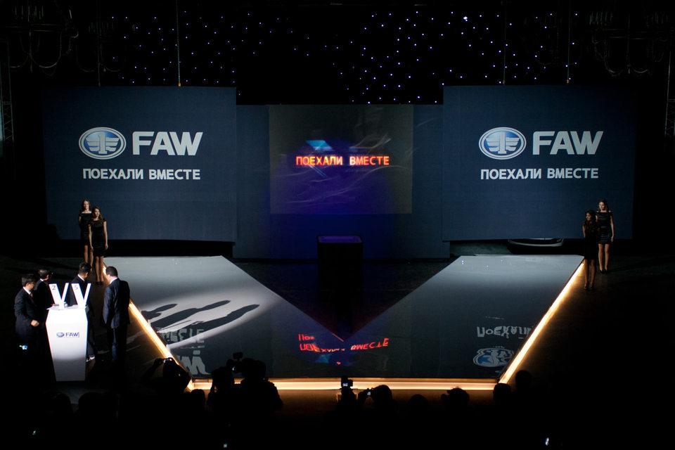 В Приморье хотят выпускать китайские грузовики FAW