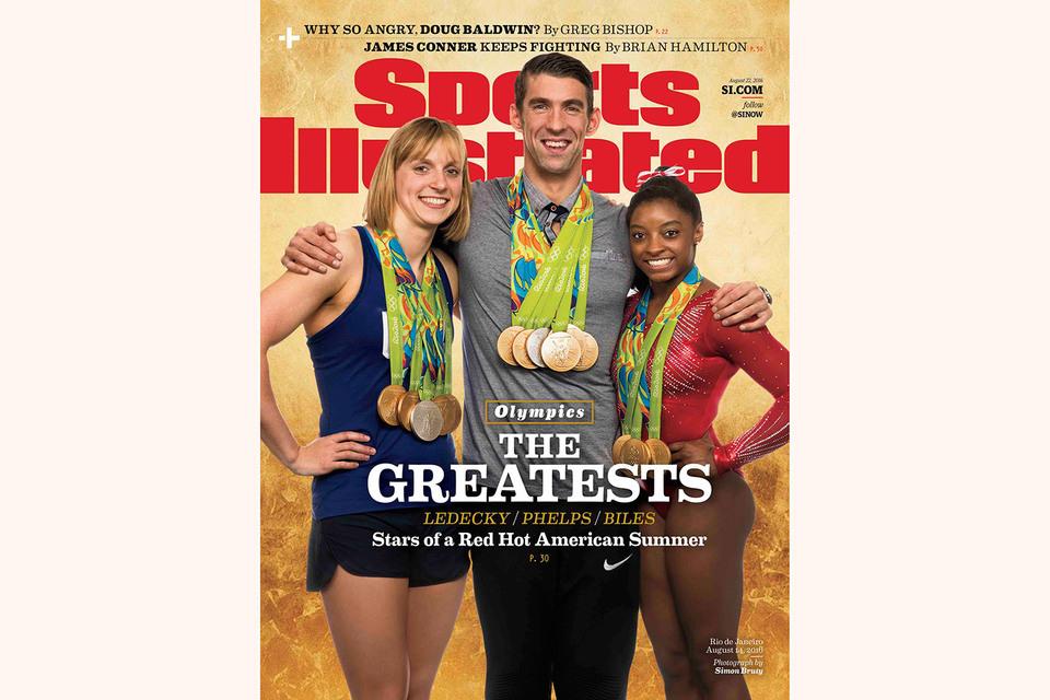 Обложка журнала Sports Illustrated