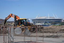 Финансирование футбольного стадиона увеличится на 1,7 млрд руб.