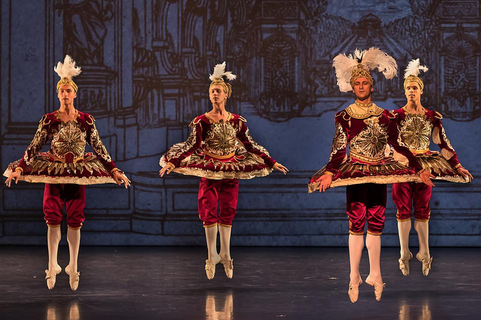 «Дивертисмент короля» открыл миру имя хореографа Максима Петрова