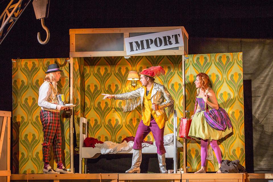 Найденная старинная опера уже освоилась в современности