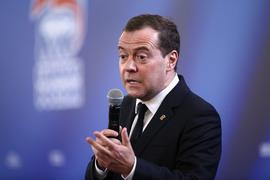 Дмитрий Медведев упоминался в партийном контексте 36 736 раз