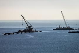 Один из объектов, под которые создавалась НПК, – строительство Керченского моста стоимостью 227,9 млрд руб.