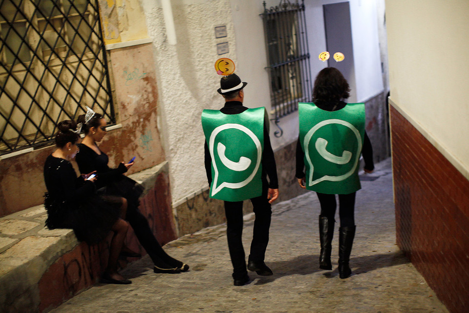 WhatsApp начинает бизнес