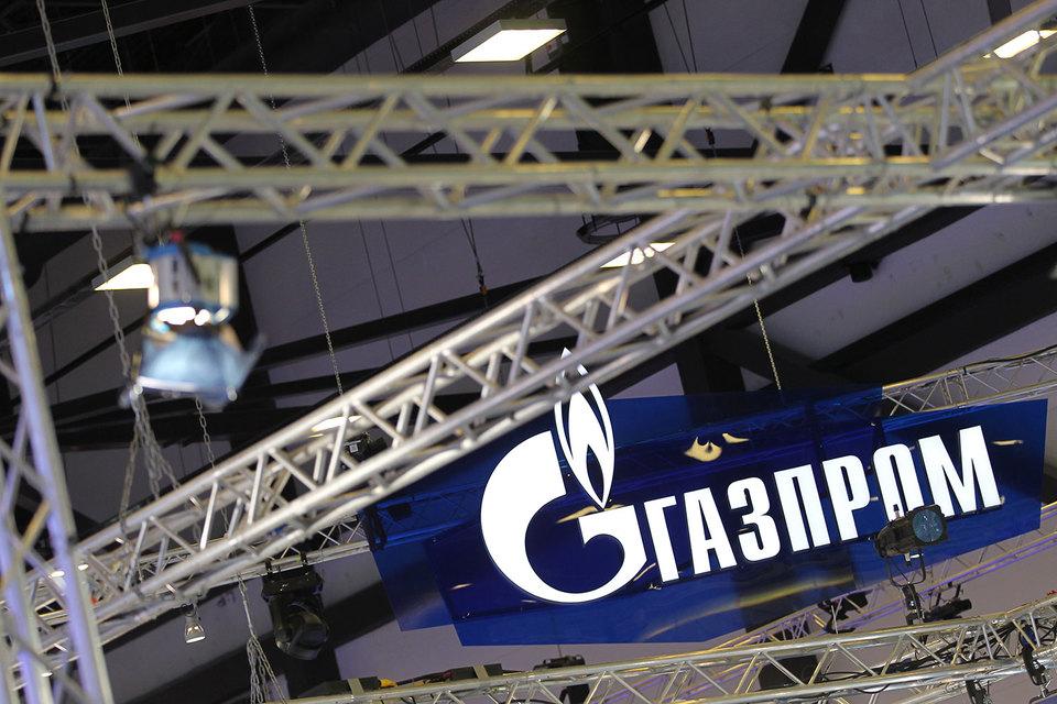 «Газпром» ушел в минус