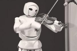 Роботы уже могут играть на скрипке, но не могут творчески мыслить