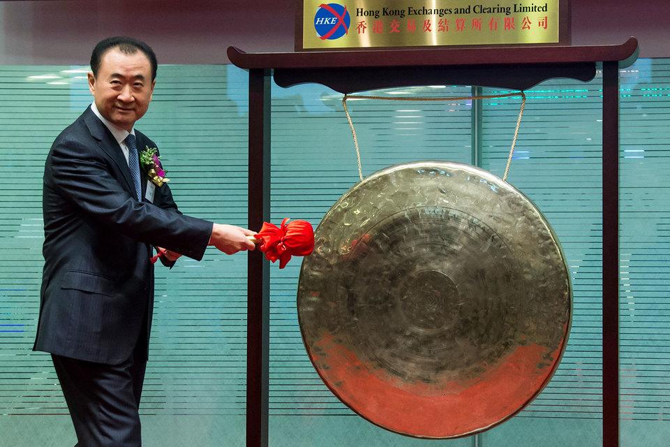 Владелец Dalian Wanda Group Ван Цзяньлинь