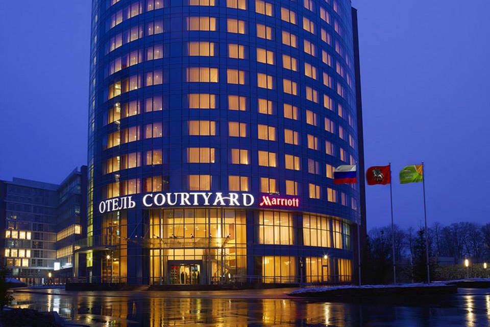 Marriott Courtyard у Павелецкого вокзала