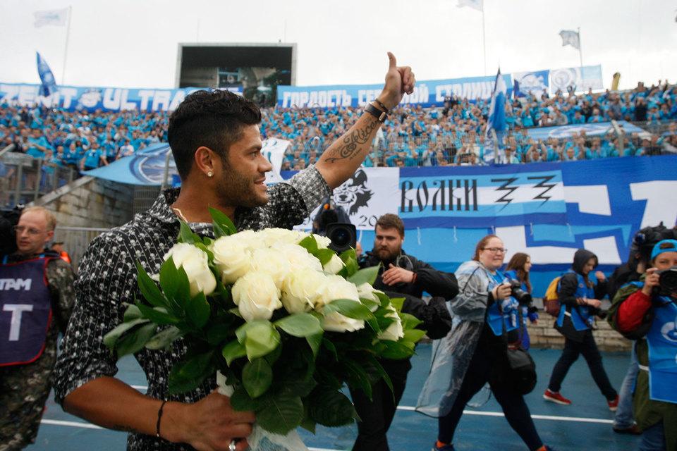 Переход Халка в «Шанхай СИПГ» – самый крупный транcфер сезона в российском футболе