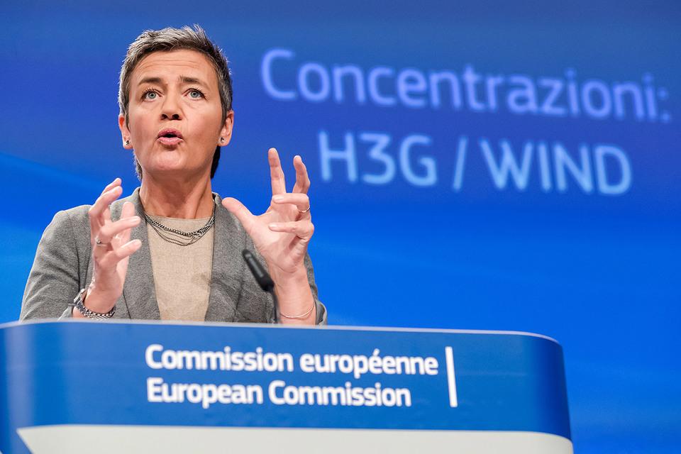 Комиссар по антимонопольной политике ЕС Маргарет Вестагер