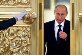 Студенты из Итона встретились с президентом Владимиром Путиным