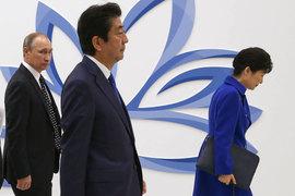 Лидеры России, Японии и Южной Кореи на Восточном форуме - трансляция