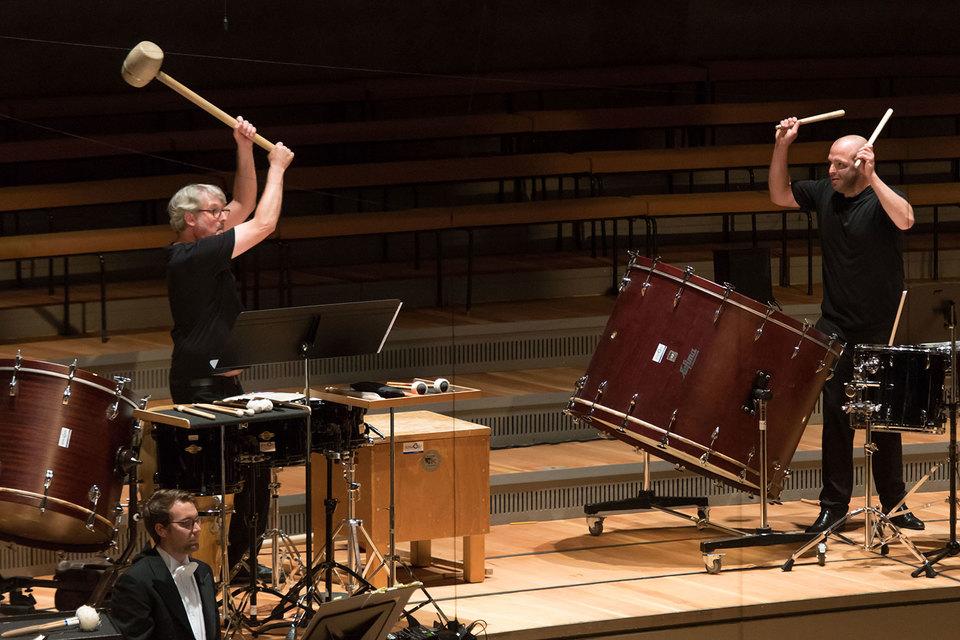 Ударники оркестра Баварского радио показали высочайший класс