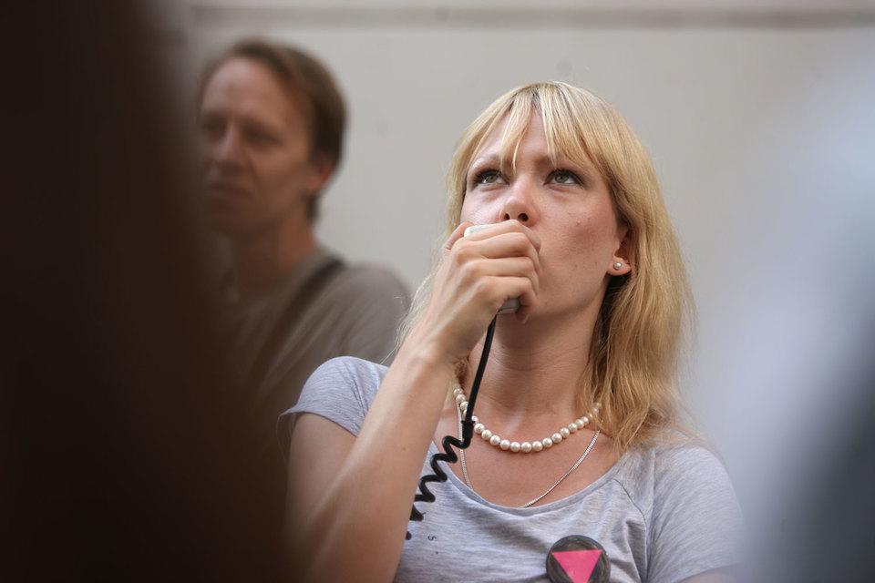 Самовыдвиженец Мария Баронова, входит в тройку самых узнаваемых кандидатов в депутаты Госдумы от Центрального округа Москвы