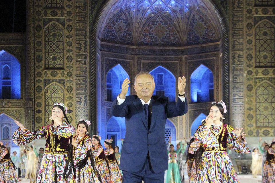 Бывший президент Узбекистана Ислам Каримов