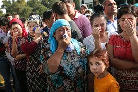 Прощание с Исламом Каримовым