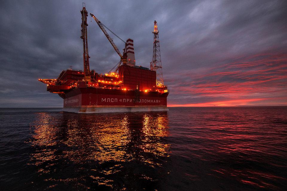 «Газпром нефть» единственная ведет добычу в Арктике – на Приразломном месторождении
