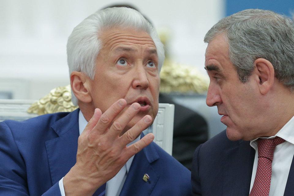 Владимир Васильев (слева) и Сергей Неверов пришли в Кремль с мыслями о будущем