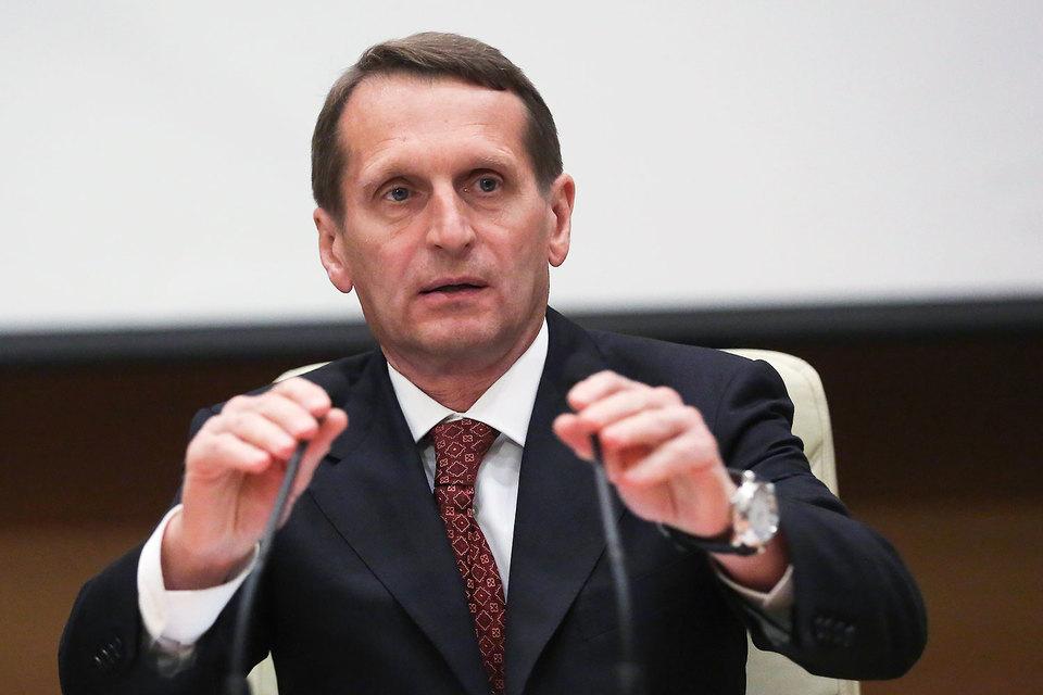 Председатель Госдумы Сергей Нарышкин встретится с делегацией ПАСЕ