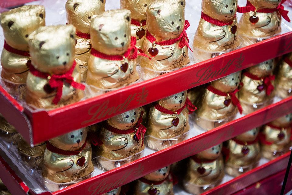 Производитель знаменитого швейцарского шоколада Lindt открывает первый бутик в России
